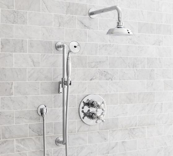 Excellent Bathroom Shower Ideas Small Small Heated Tile Floor Bathroom Cost Rectangular Steam Bath Unit Kolkata Bathroom Addition Ideas Young Moen Single Lever Bathroom Faucet Repair BrightBathroom Shower Pans Plumbing Supplies Mixing Chrome And Nickel In The Bathroom | The Small And Chic Home