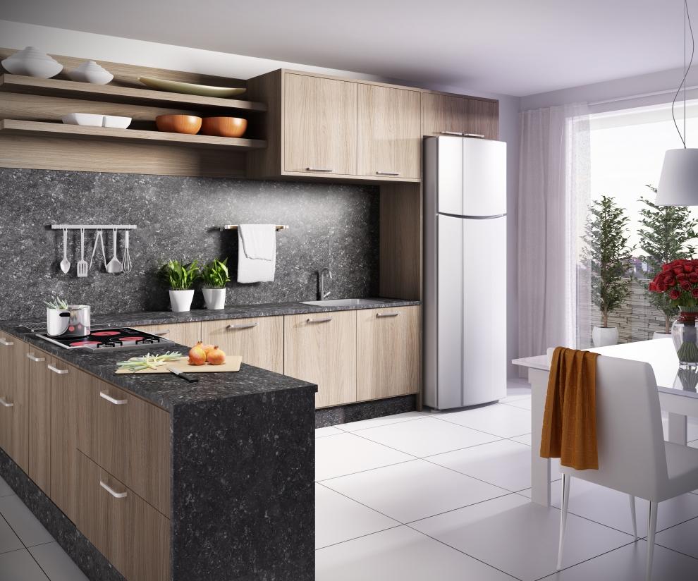 a cozinha perfeita para a sua casa up design inteligente. Black Bedroom Furniture Sets. Home Design Ideas