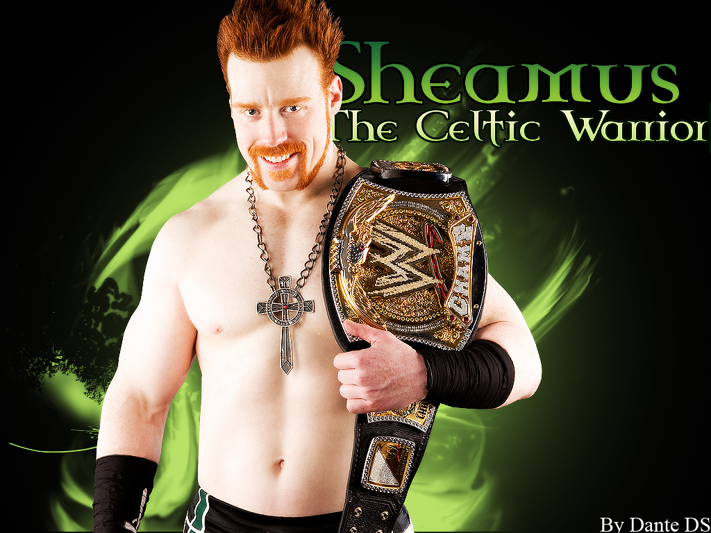 ALL SUPERSTAR WALLPAPER  Wwe Sheamus Wallpaper