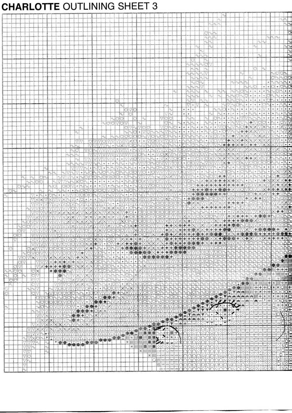 Схемы вышивки крестом херитаж 39