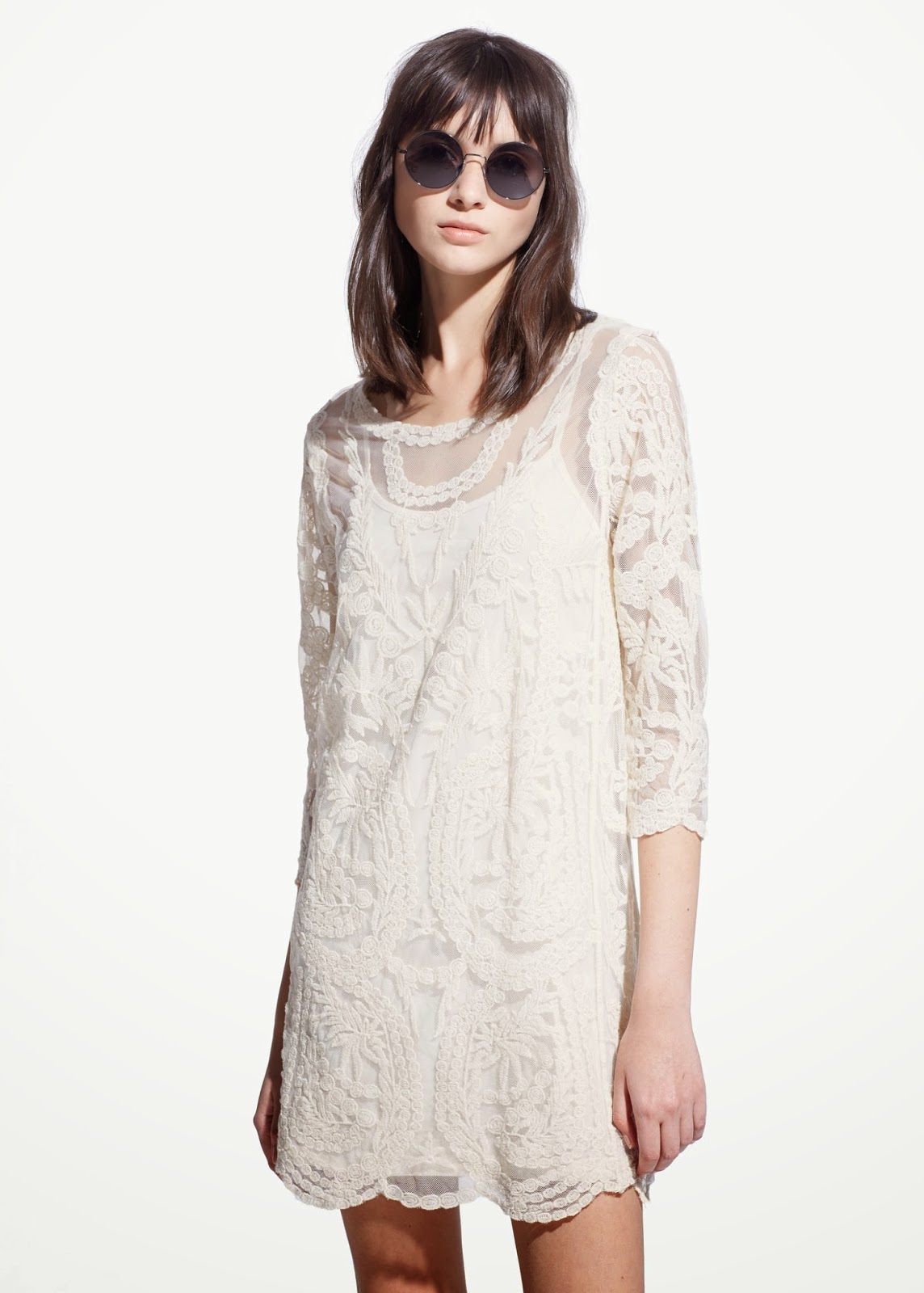 white boho dress 2015, mango white dress,