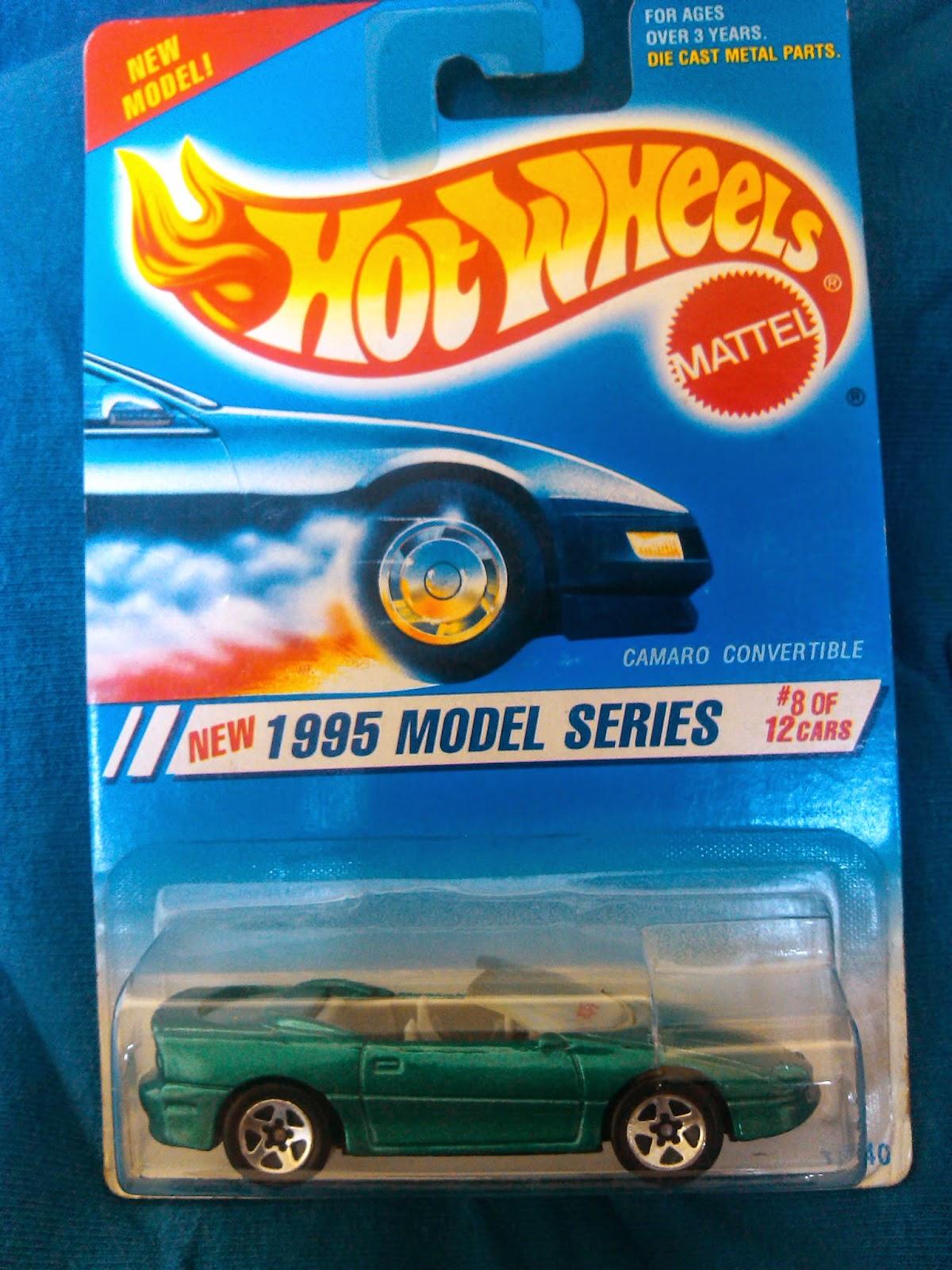 Colección Chevrolet Camaro en Blister Camaro+Convertible+1995+Model+Series+%238