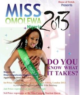 Miss Omolewa 2013