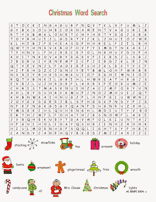 Hard Word Search Puzzles 6 hard christmas word search