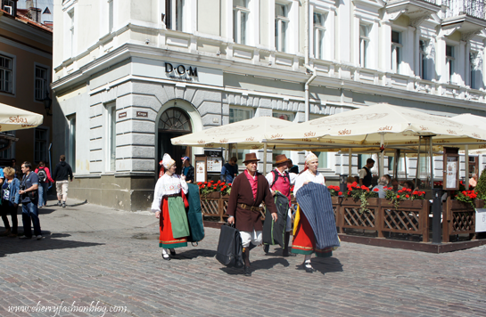 Dressed Traditionally in Tallinn, Visit Tallin, Estonia