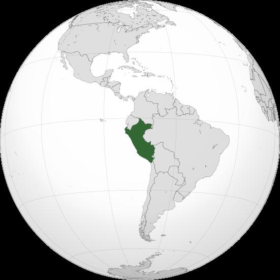 Territorio Peruano en América del Sur