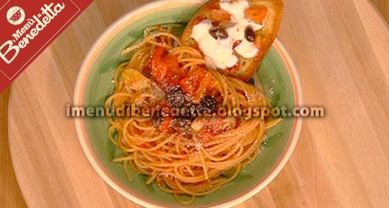 Spaghetti alla Trinacria di Benedetta Parodi