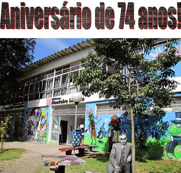 Aniversário da Biblioteca Monteiro Lobato