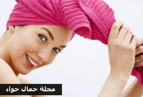 خطوات الطريقة المثالية لغسل الشعر.. مجلة جمال حواء