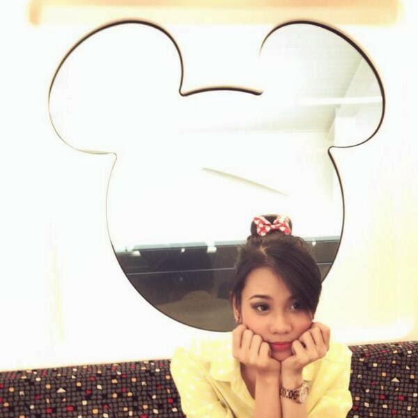 Amanda Zevannya di Tokyo Disney Sea