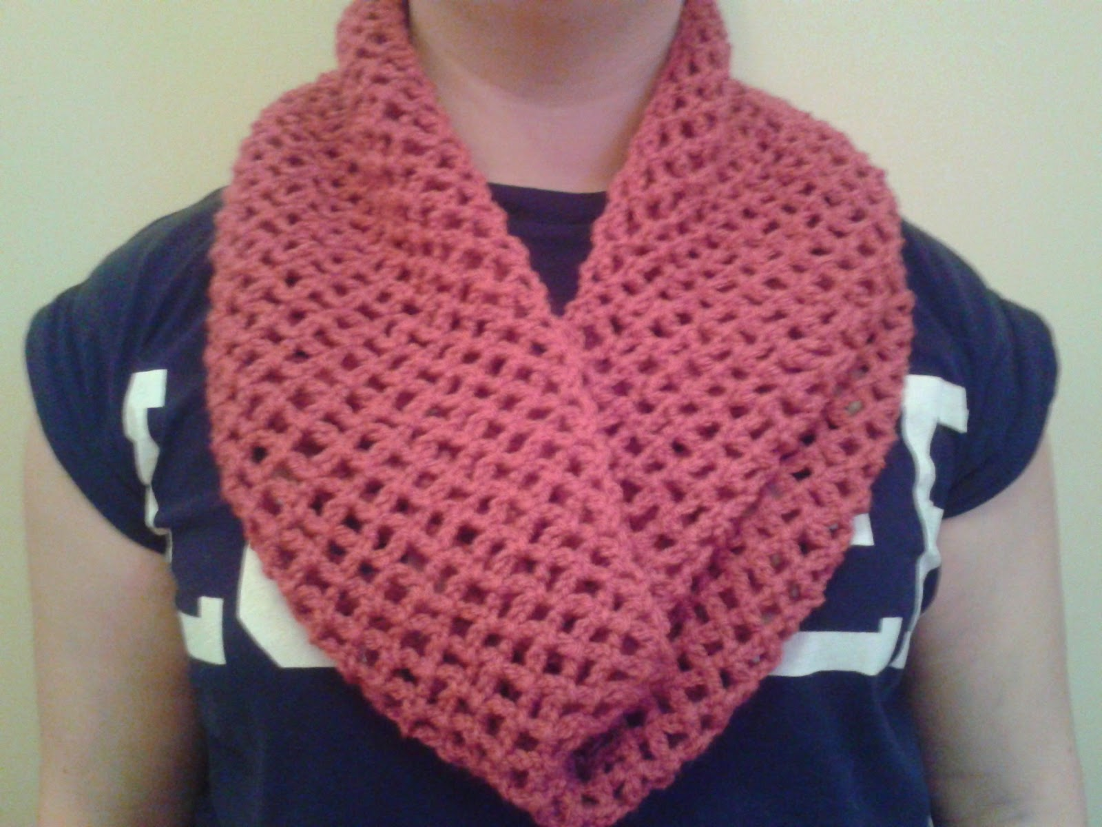 Crochet Infinity Scarf Pattern - Viewing Gallery
