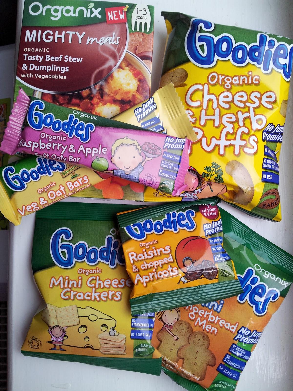 Organix, children healthy snacks, organic treats