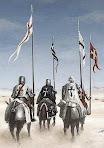 Caballeros de diversas Órdenes viajaban juntos en el camino...