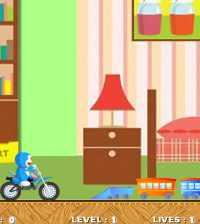 Doraemon Carrera en Moto