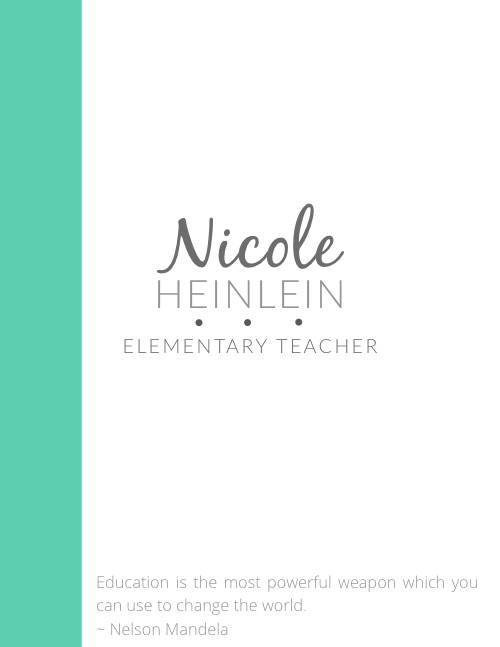 Teacher transfer and resume tips teaching with style for Nursing professional portfolio template