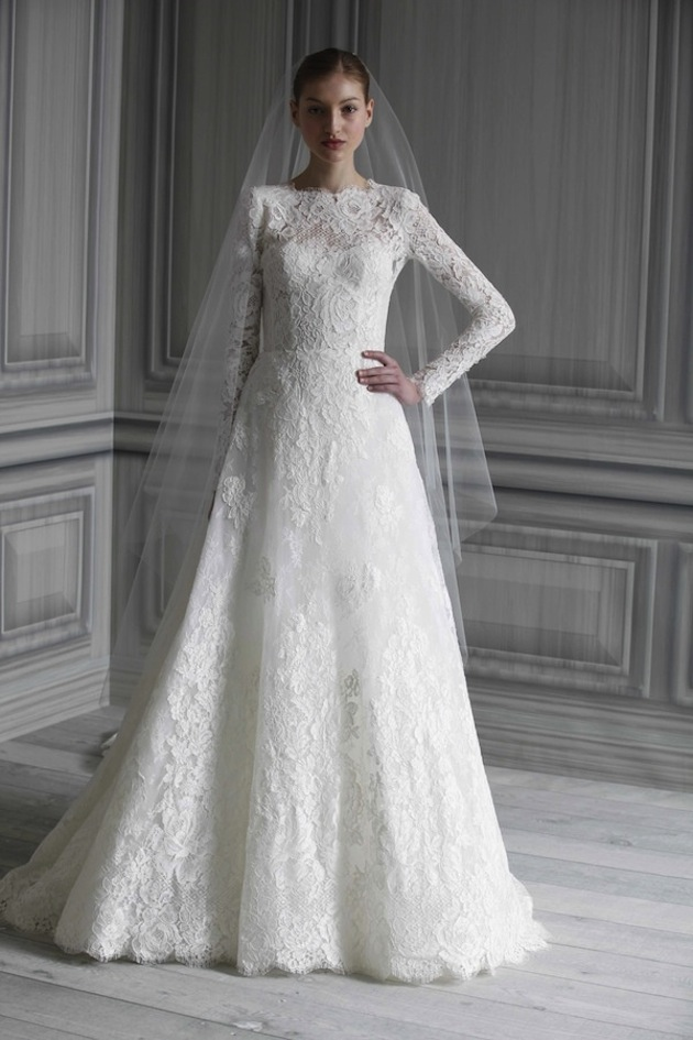 Cool And Cool Wedding Dresses With Sleeves