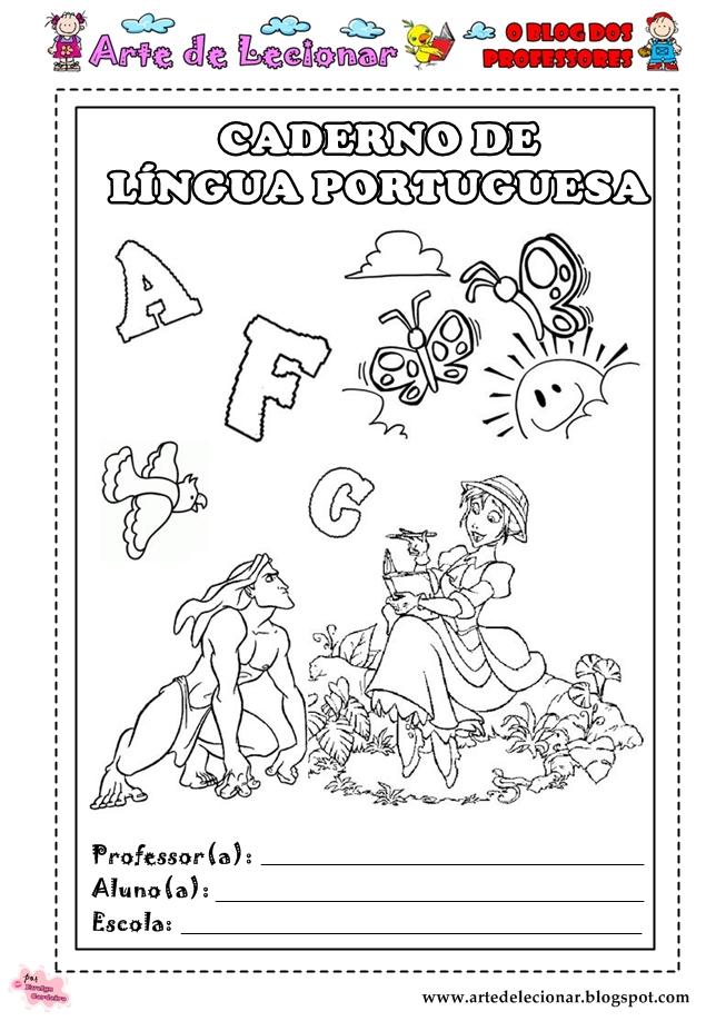 CAPAS PARA CADERNOS 2012   TURMA DA FLORESTA