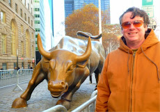 beside The Charging Bull