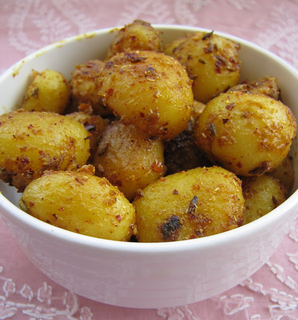 Spiced And Flavorful Roasted Baby Potato