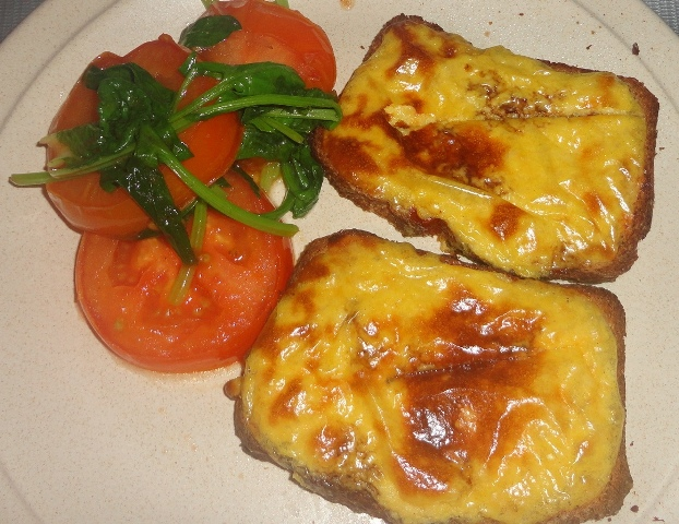 Emily's Cooking (Makan2) Foray: Wicked Welsh Rarebit ~ Jamie Oliver