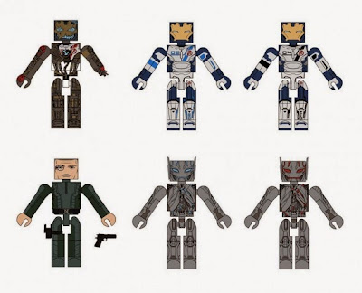 Marvel's Avengers: Age of Ultron Marvel Minimates Blind Box Series - Ultron, Iron Legion & Baron Strucker