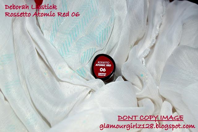 DEBORA LIPSTICK SHADE- ROSSETTO ATOMIC RED 06