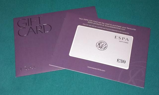 ESPA £30 Gift Voucher