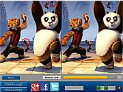 Game tìm điểm khác nhau Kungfu Panda, chơi game tim diem khac nhau