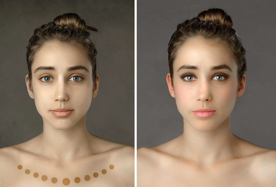 SERBIA - Woman Had Her Face Photoshopped In More Than 25 Countries To Compare Their Beauty Standards