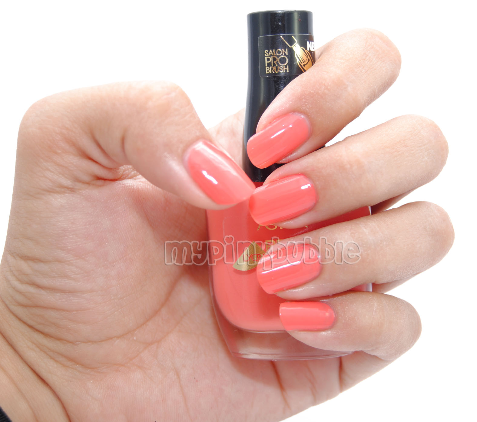 Esmalte Astor perfect stay 207 creamy coral swatch