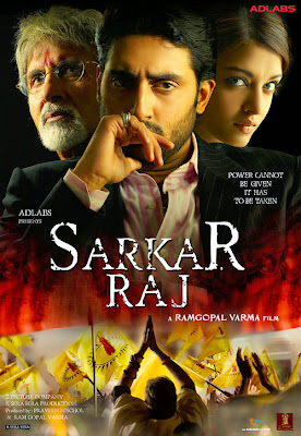 Poster Of Bollywood Movie Sarkar Raj (2008) 300MB Compressed Small Size Pc Movie Free Download Downloadingzoo.com