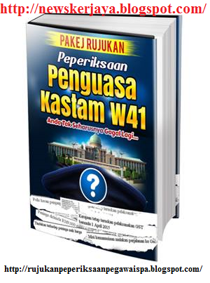 Download Percuma Rujukan Penguasa Kastam W41
