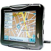 Ganhei um GPS, assinalei a direção e fiz 150 quilômetros, orientado por uma .