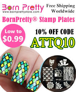 Born Pretty Store 10 % off code ATTQ10