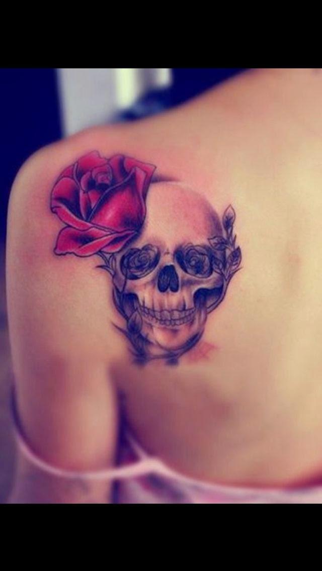 ♥ ♫ ♥ Beautiful Skull Tattoos For Women  ♥ ♫ ♥