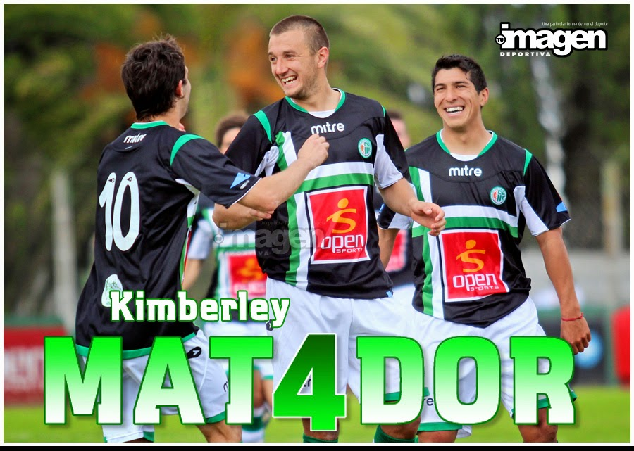 "TORNEO FEDERAL ""B"" . KIMBERLEY 4 CAMIONEROS 1"