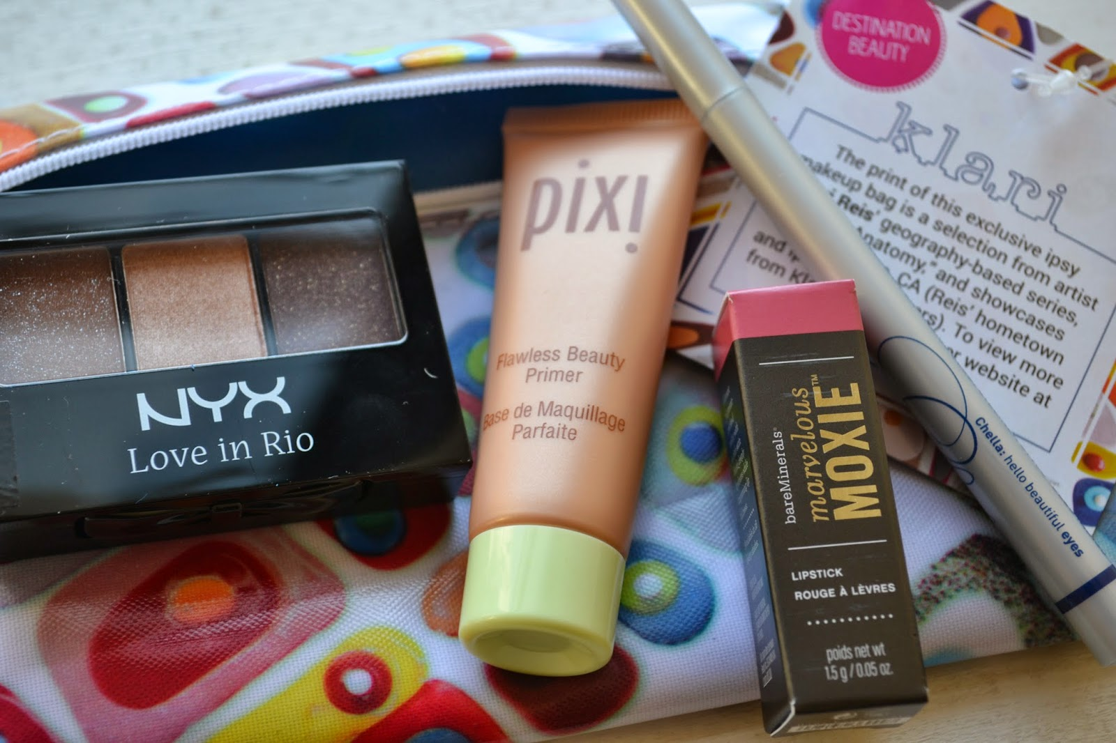 March 2014 Ipsy Glam Bag