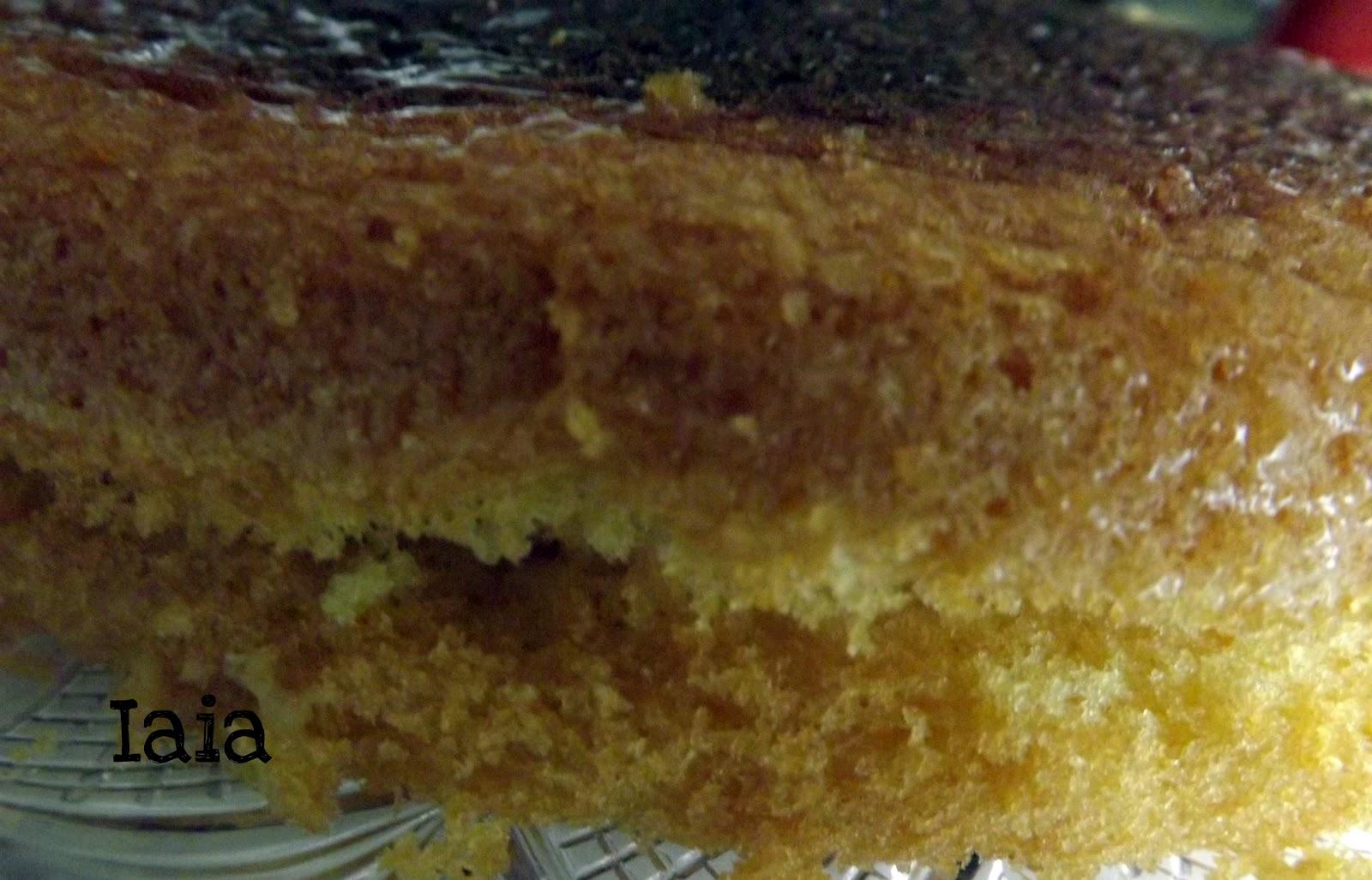 Pan di spagna senza glutine da iaia in cucina con - Glassa a specchio su pan di spagna ...