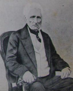 'Don Vicente Anastasio de Echevarría,Fotografía reproducida en Adolfo I. Baez, Convención preliminar de paz entre el Imperio del Brasil y la República Argentina (c.1855)
