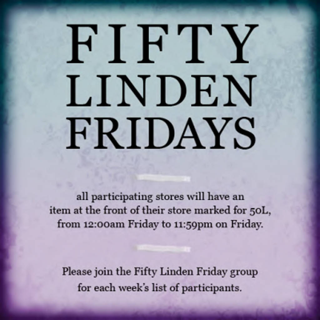 FIFTY LINDEN FRIDAYS