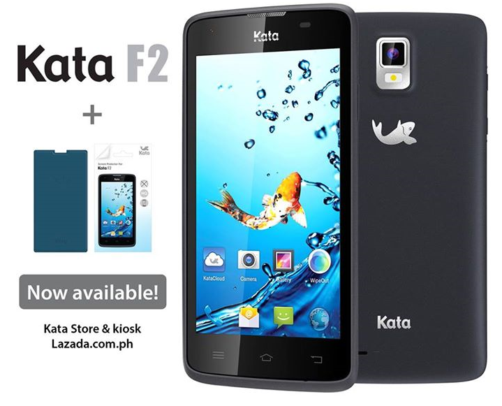 Kata F2 FREE Screen Protector and Flip Cover Case Promo