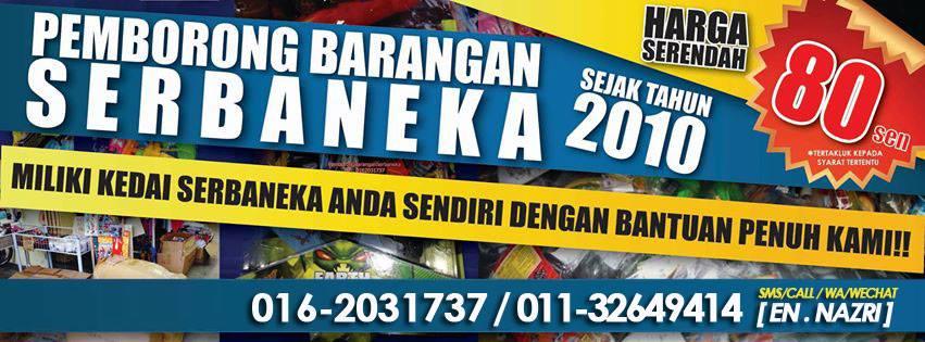 PEMBORONG BARANGAN SERBANEKA RM2