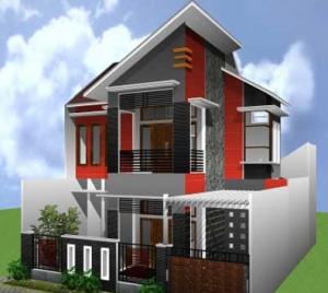 Arsitektur Rumah Minimalis 2 Lantai Type 45