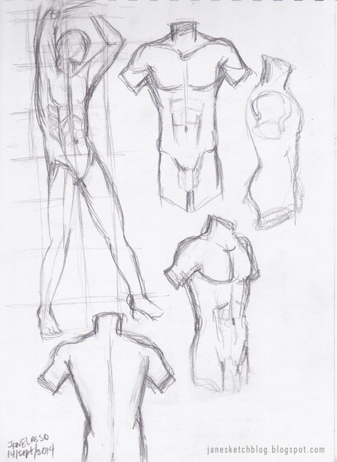 Increíble Bocetos Anatomía Masculina Elaboración - Anatomía de Las ...