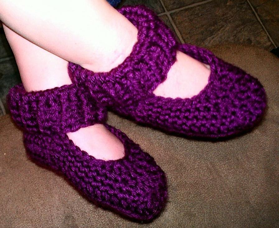 Mne Crafts Saturdays Free Pattern Toddler Slippers