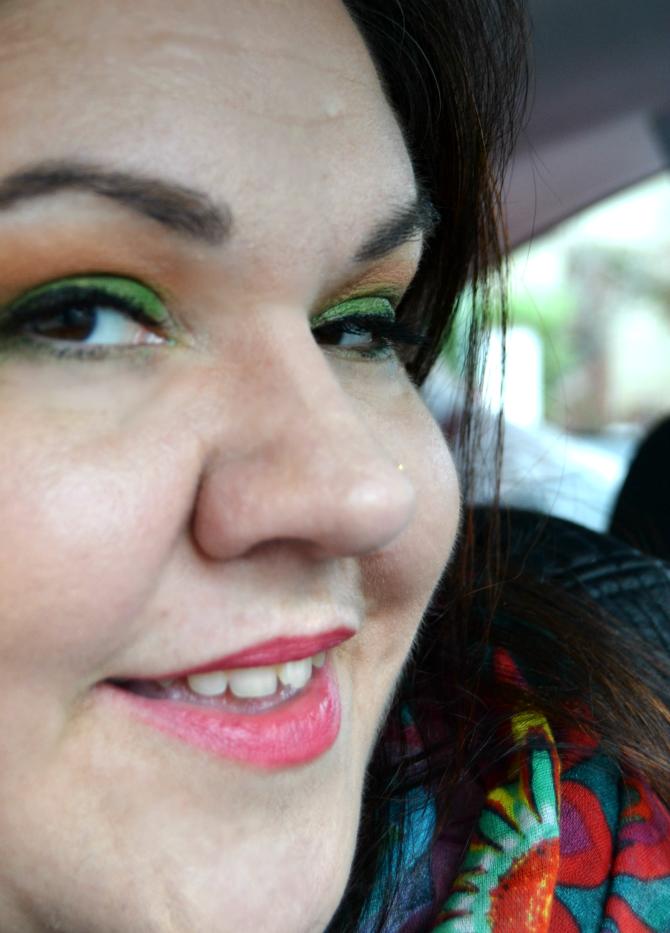 makeup realizzato con trucco ecobio