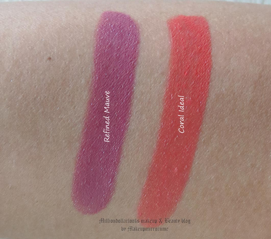 oriflame the one 5 in 1 colour stylist lipstick refined mauve coral