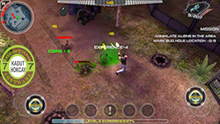 Android Game Alien Shooter Full Apk