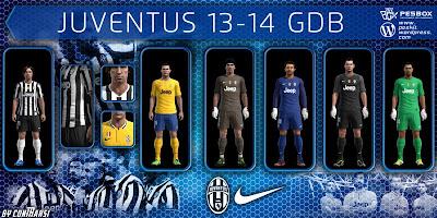 Juventus GDB Kitset 2013-2014 by conTRaksi