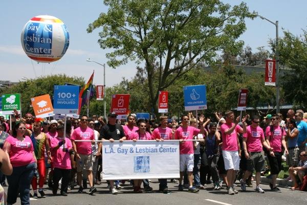Gay Lesbian Center LA Pride Parade 2013
